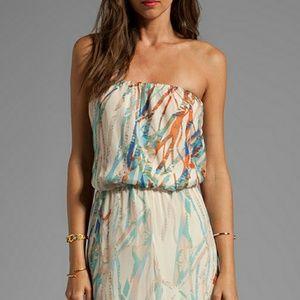 Gypsy 05 Cannes Seismograph Silk Tube Maxi Dress